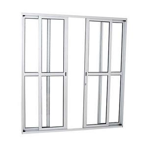 Porta Alumifort Co Dc 4F Bco 216X200X8,7
