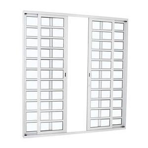 Porta Alumifort Co Dh 4F Bco 216X200X8,7