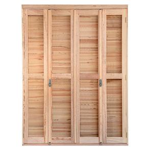 Porta montada balc o veneziana madeira angelim ambos os for O que e porta balcao