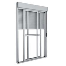Porta Balcão Integrada Manual de Alumínio MB Esquadrias