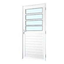 Porta Basculante Linha Magnun  Branca  Direita 210x0,90cm