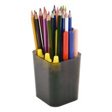 Porta Canetas Objetos Plástico Fumê Dellocolor Dello