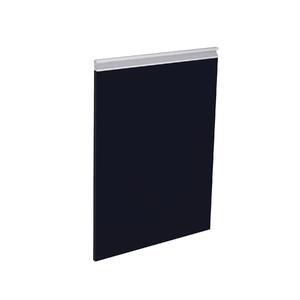 Porta Cristallo Preto Esquerda 69,7X42x1,8cm Grenoble Delinia