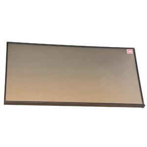 Porta de Alumínio Basculante Modelo 417 Vidro Argenato 393x745 JR Madeiras