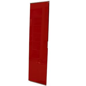 Porta de Alumínio Modelo 405 Vidro Vermelho 1935x480 JR Madeiras