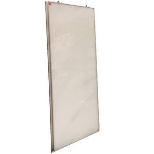 Porta de Alumínio Modelo 411 Vidro Super Branco 1940x750 JR Madeiras