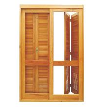 Porta de Correr  Madeira 213X140 Madecen
