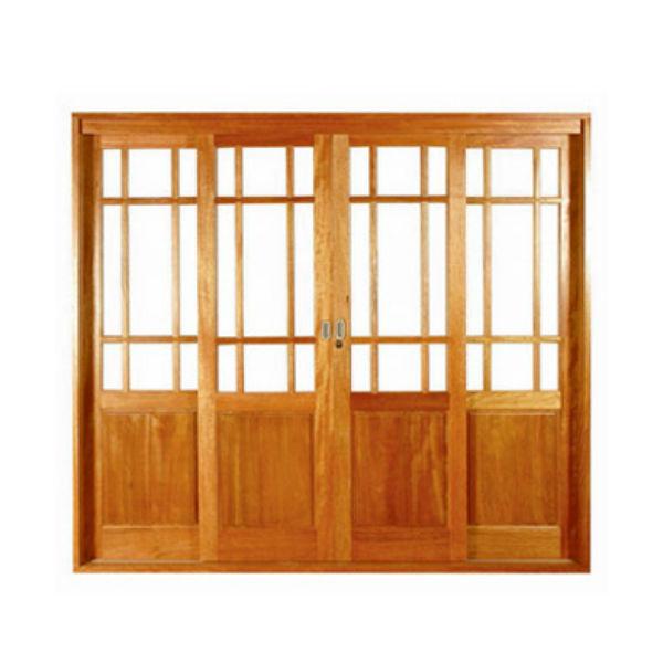 Folha de porta de correr madeira central 2 15x2 4m metha for Porta 240 cm