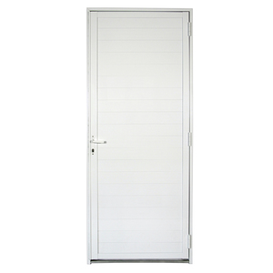 Porta de Giro Lambril Alumínio 2,15 x 0,88m Direita Artens
