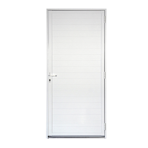 Porta de Giro Lambril Alumínio 2,15 x 0,98m Direita Artens