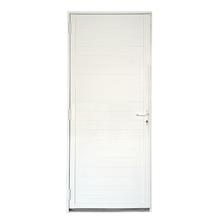 Porta de Giro lambrill Alumínio 2,15 x 0,98m Esquerda Artens