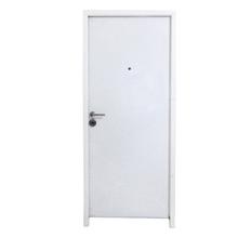 Porta de Alta Segurança Montada de Giro de Aço Pintado Direita 20 travas 2,10x0,82m THT