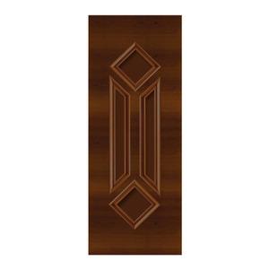 Porta Decorada em Madeira 210x70cm Imbuia Randa