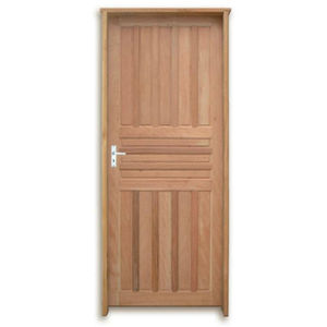 Porta Decorada em Madeira 210x70cm Mista Uniportas