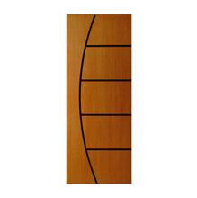 Porta Decorada em Madeira 210x72x3,5cm Imbuia Randa