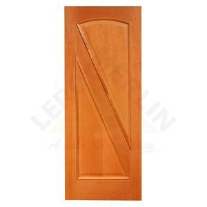 Porta Decorada em Madeira 210x80cm Angelim Fuck