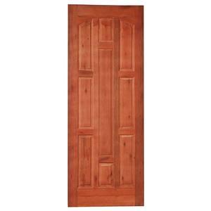 Porta Decorada em Madeira 210x80cm Cedro Impel