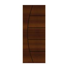 Porta Decorada em Madeira 210x80cm Imbuia Randa