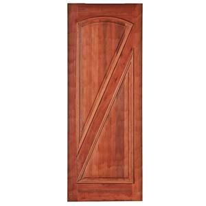 Porta Decorada em Madeira 210x82cm Cedro Impel