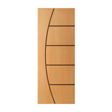 Porta Decorada em Madeira 210x82cm Curupixá Randa