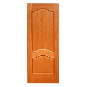 Porta Decorada em Madeira 210x92cm Mogno Fuck