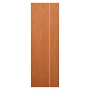 Porta decorada Interno Madeira Direito e esquerdo 210x70cm Camilotti