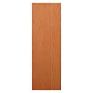 Porta decorada Interno Madeira Direito e esquerdo 210x72cm Camilotti