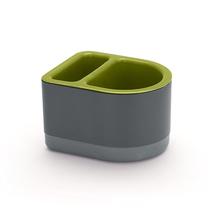 Porta Detergente e Bucha Plástico Verde By Arthi