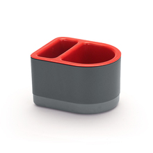 Porta Detergente e Bucha Plástico Vermelho By Arthi