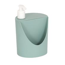 Porta Detergente e Esponja 18x12x11cm Verde Comfort Zone