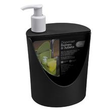 Porta Detergente e Sabão Plástico 18x12x11 10837 Preto Brinox