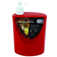 Porta Detergente e Sabão Plástico 18x12x11 10837 Vermelho Brinox