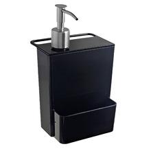 Porta Detergente 600 ml Plástico Preto Organizadores Coza