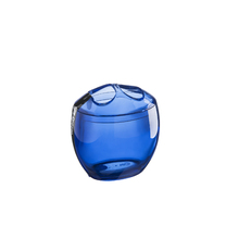 Porta Escova de Dente Plástico Redondo Azul Brinox