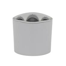 Porta Escova de Dente Cinza em Resina Plástica Orvino Cement Sensea