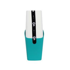Porta Escova de Dente Plástico com Tampa Verde
