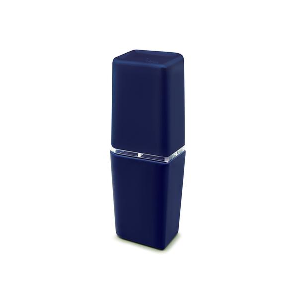 Porta escova de dente azul em pl stico petala martiplast - Porta carta igienica leroy merlin ...