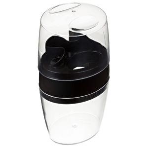 Porta Escovas de Dente Plástico Pia Oval com Tampa Belle Transparente