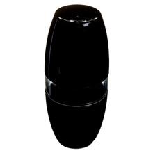 Porta Escovas de Dente Plástico Pia Oval com Tampa Vitra Preto