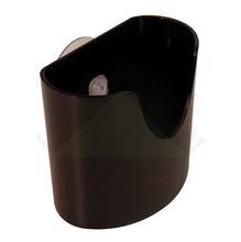 Porta Esponja Plástico Preto Organizadores Coza