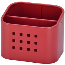Porta Esponja Vermelho 10,5x8,4x8,5cm Importado