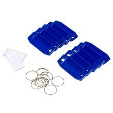 Porta Etiqueta Azul Para Chaves 2531 Sr Fechaduras