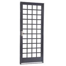 Porta giro Aço Belfort 217 x 87 x 12 cm lado Esquerdo Divisória quadriculada 1 folha Sasazaki