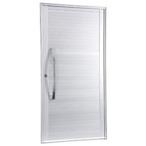 Porta Giro Alumínio Anodizado Fosco 215 cmx108 cm 1 folha Gravia