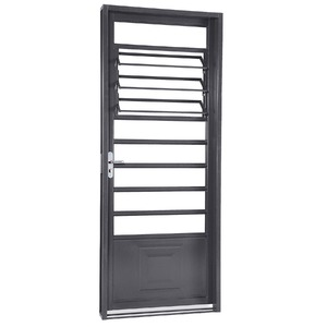 porta montada de giro basculante metal a o esquerdo 2 17x0 87m sasazaki leroy merlin. Black Bedroom Furniture Sets. Home Design Ideas