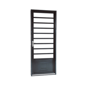 porta montada de giro decorada metal a o direito 2 17x0 87m sasazaki leroy merlin. Black Bedroom Furniture Sets. Home Design Ideas