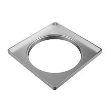 Porta Grelha Alumínio Alumínio Quadrado Sem fecho 10cm Tigre