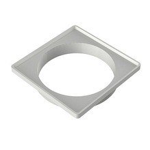 Porta Grelha PVC Branco Quadrado Sem fecho 10cm Tigre