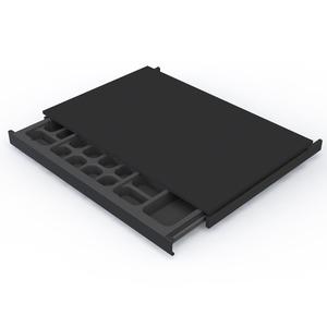 Porta j ias preto 5 5x60x43 5cm spaceo leroy merlin - Porta carta igienica leroy merlin ...