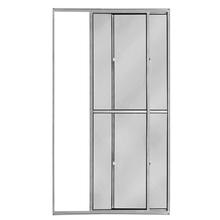 Porta Montada Balcão Lisa de Alumínio 2,10x1,20m Atlântica
